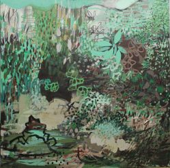 Sylvan acrylic/canvas 40x40